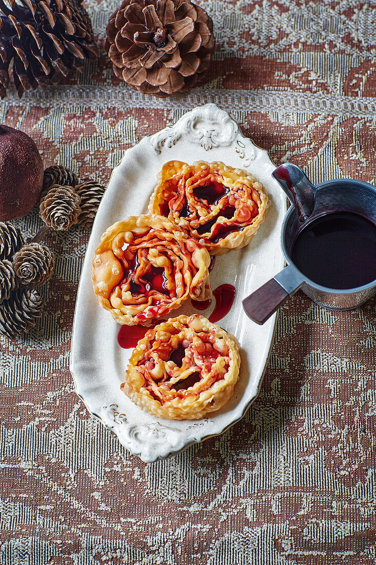 Cartellate - Christmas cookies from Puglia