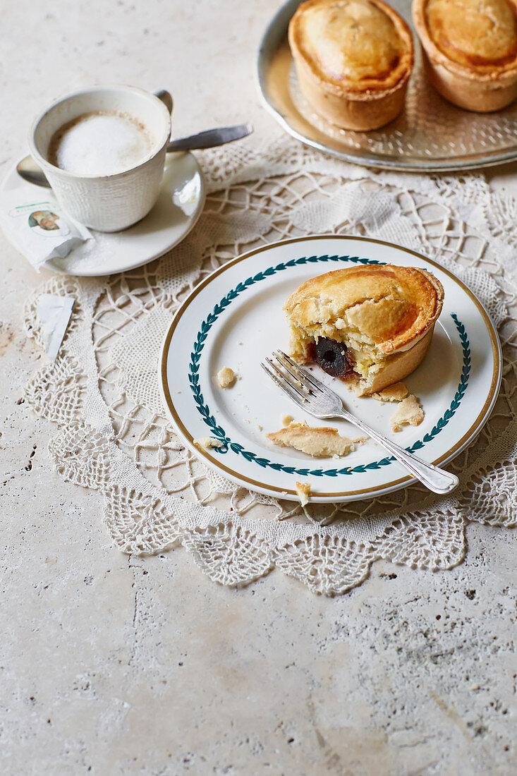 Pasticciotto - cream patties from Apulia