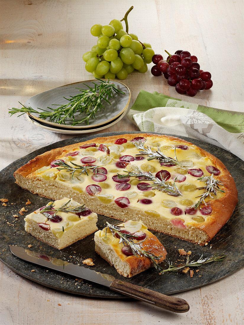 Rosmarin-Trauben-Kuchen