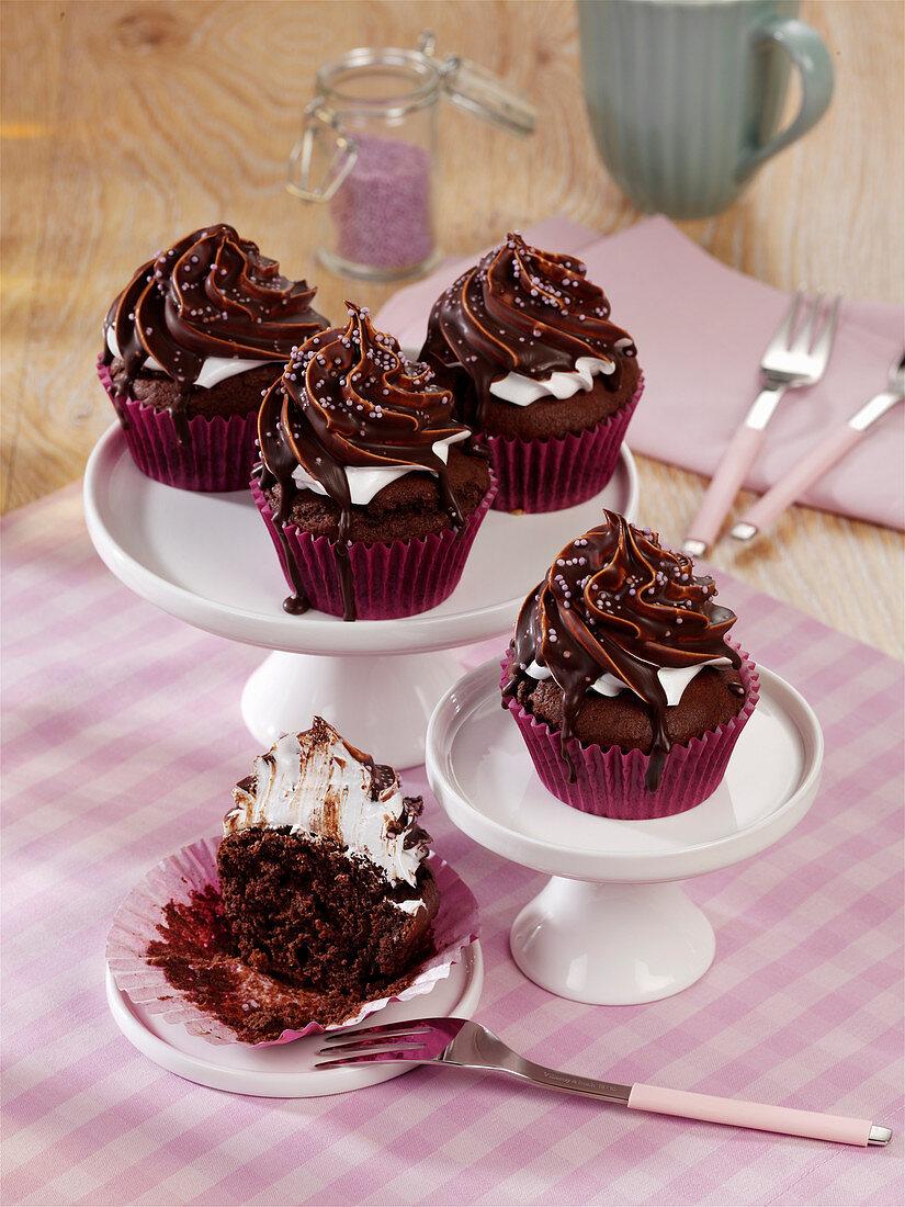 Schaumkuss-Muffins