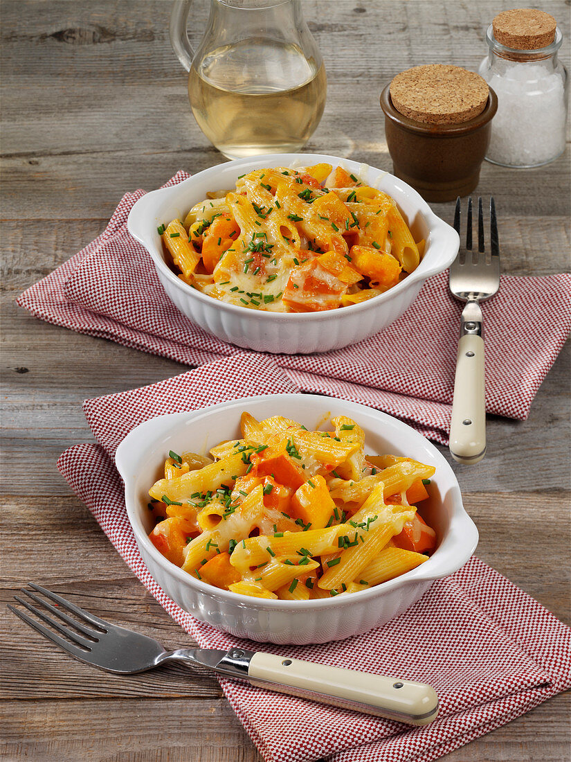 South Tyrolean pasta with Hokkaido pumpkin and cheese