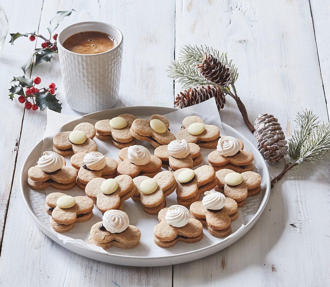 Spelt Christmas cookies