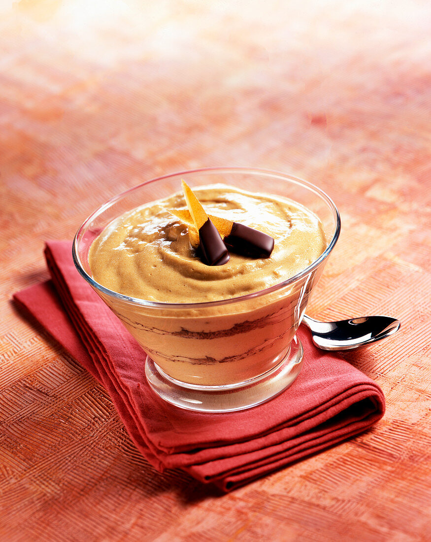 Coffee cream dessert