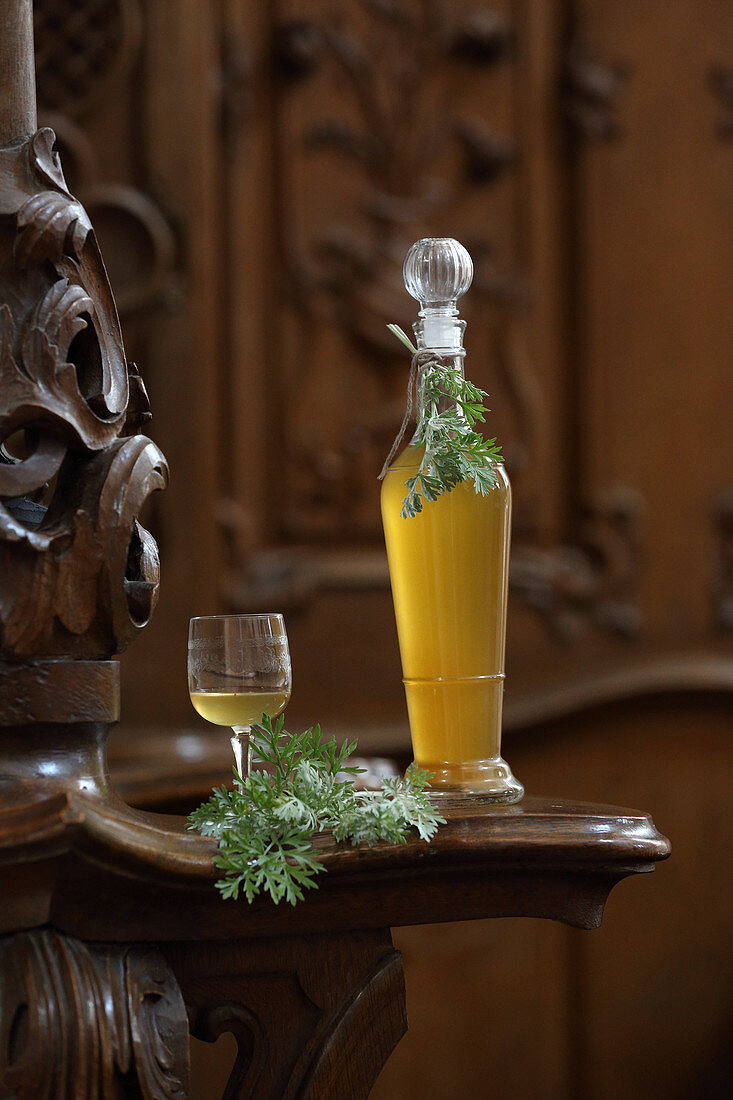 Homemade vermouth (as a spring cure)