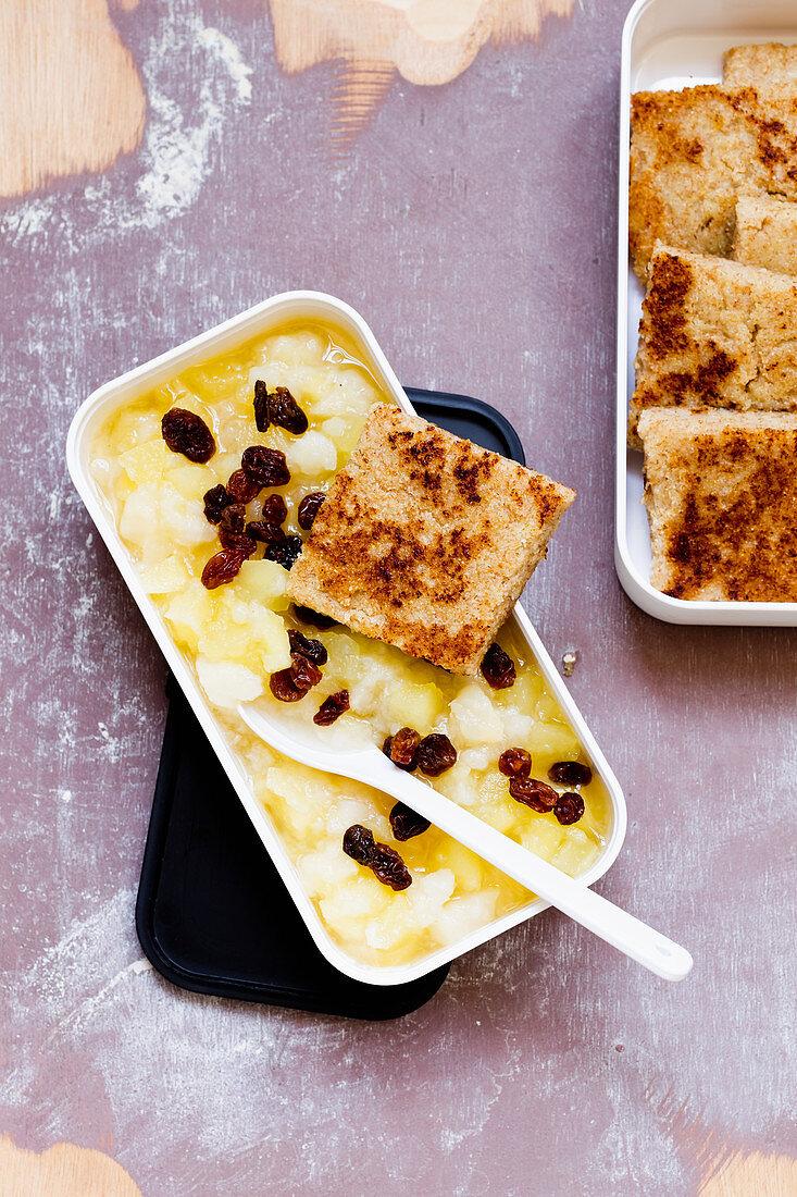 Austrian Riebel (porridge) 'To Go'