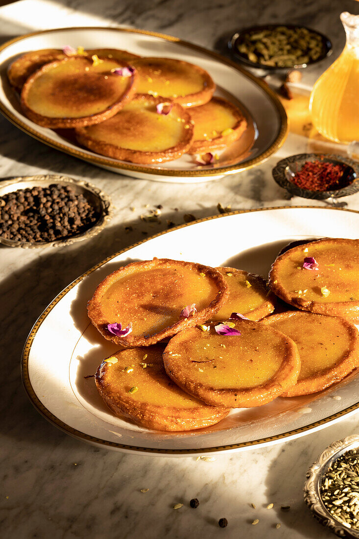 Malpua Indian sweet and savoury Pancake