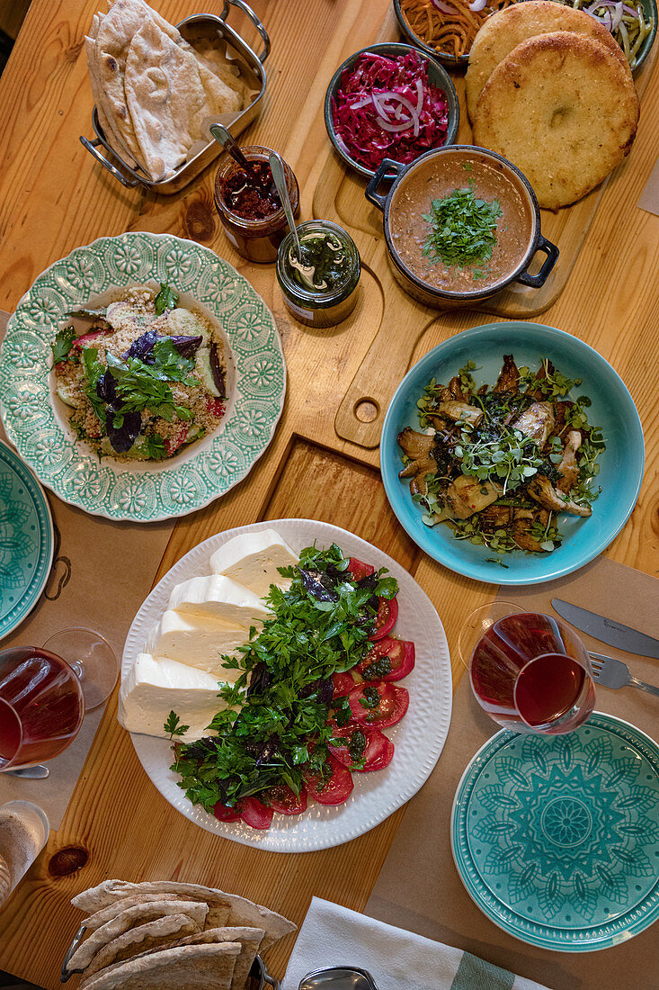 Appetisers and vegetarian dishes (Georgia)