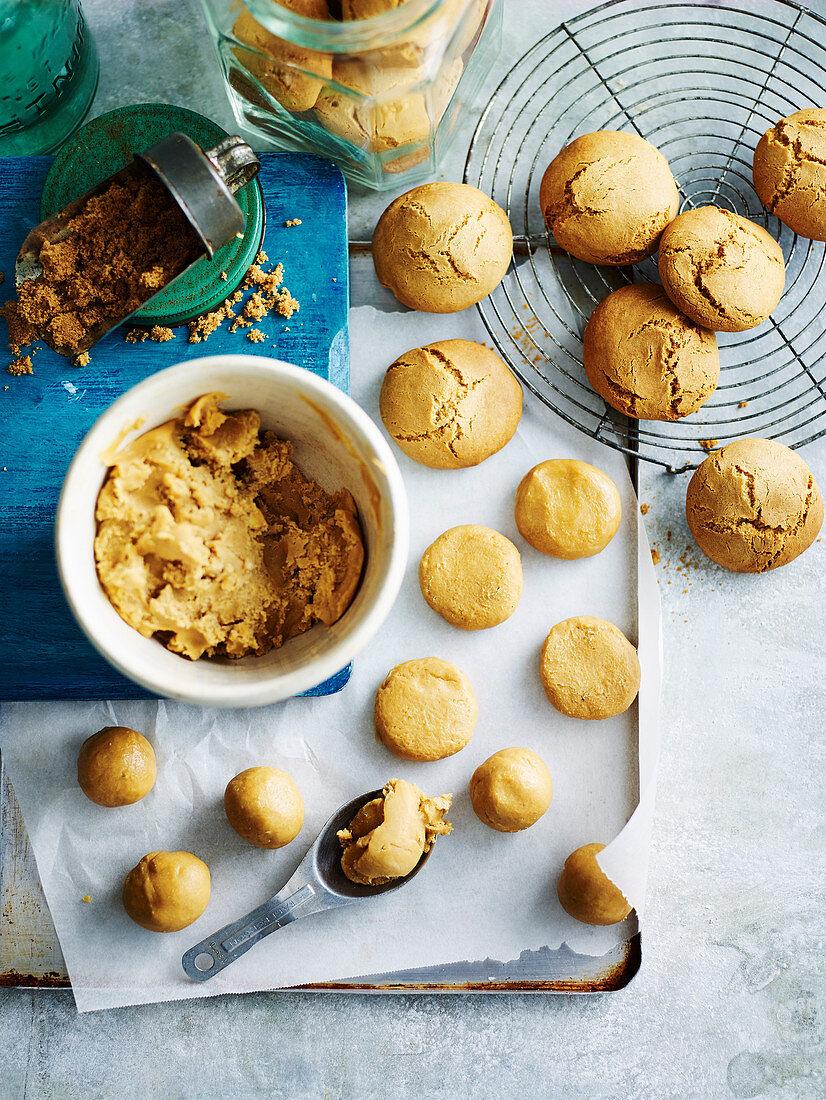 Basic Cookie Dough (gluten-free)