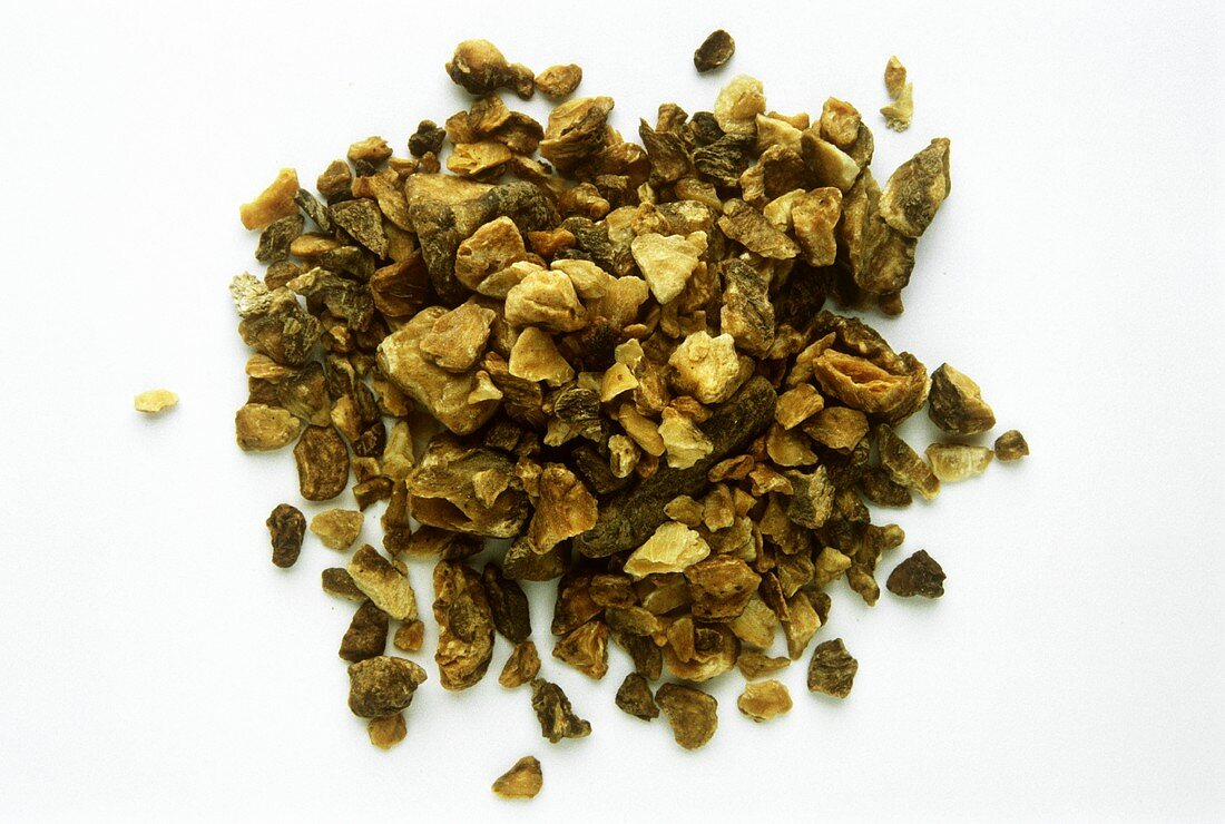 Wild chicory root (appetite stimulant, coffee substitute)