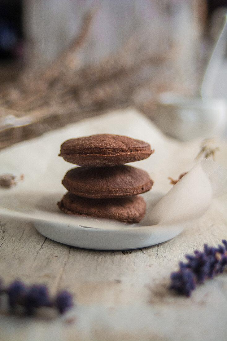 Chocolate bisquits