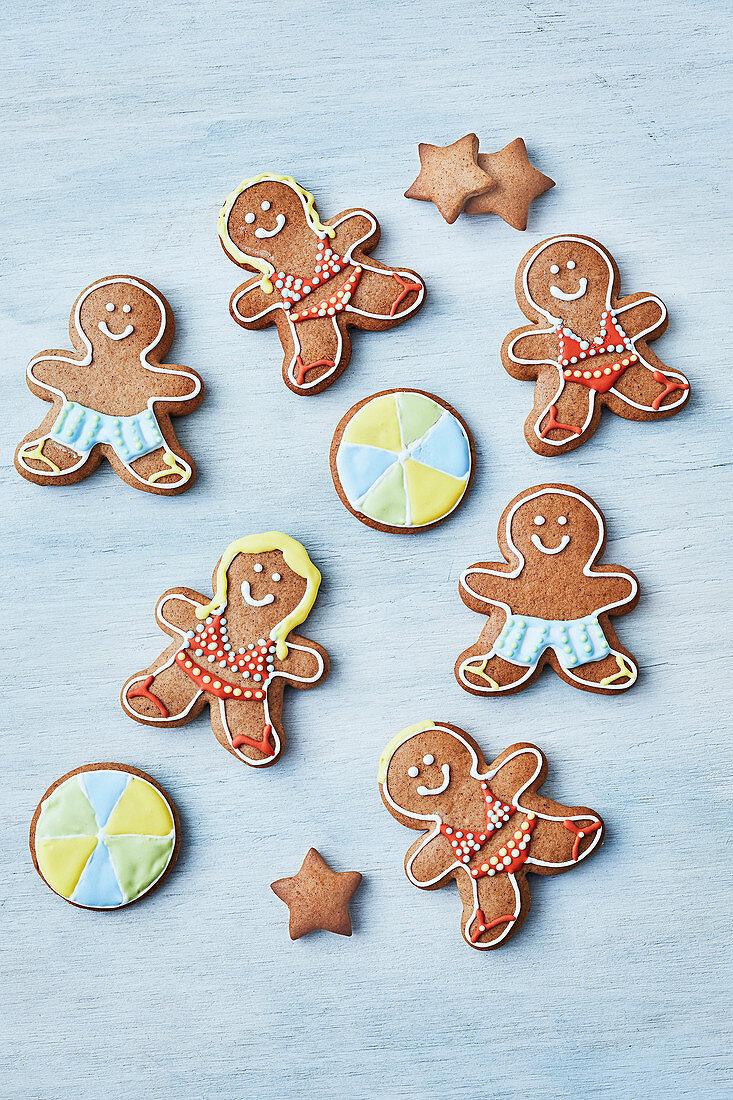 Gingerbread figurs