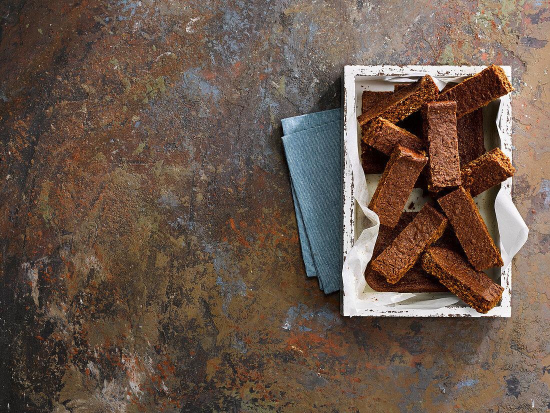Parkin - a Bonfire Night tradition gingerbread cake