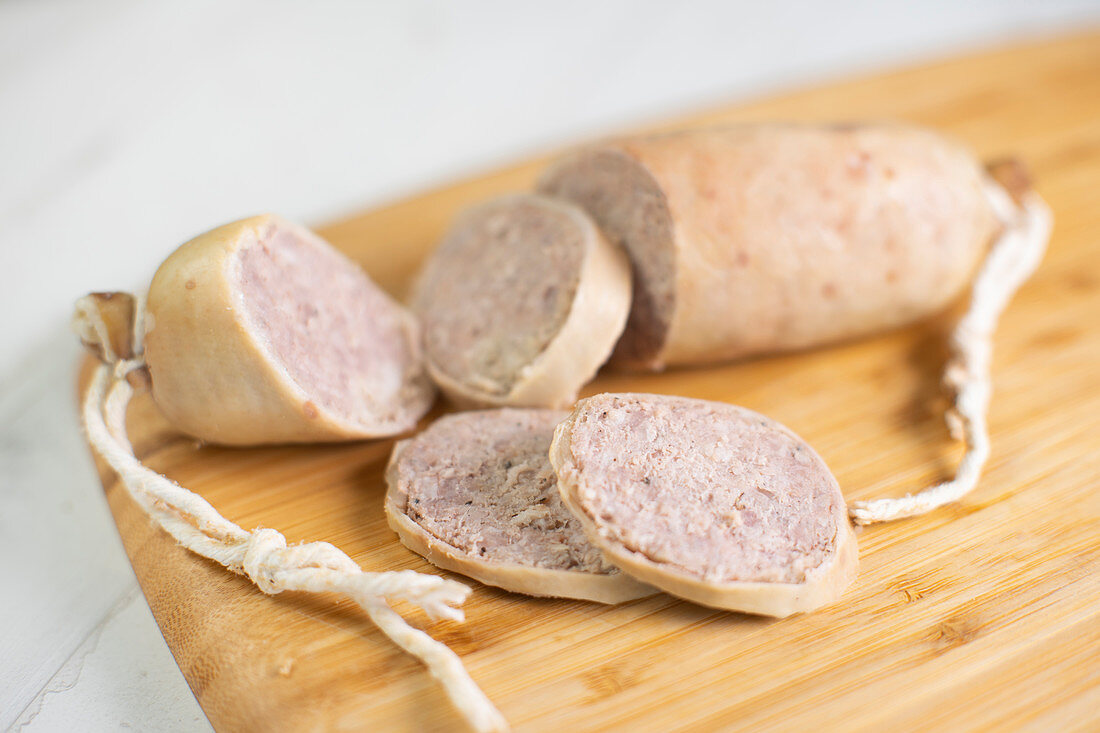 Catalana, traditional pork cut in Catalunya (Spain)