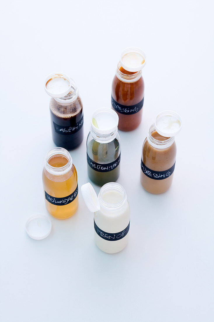 Marinade, glazes and dressings with spices