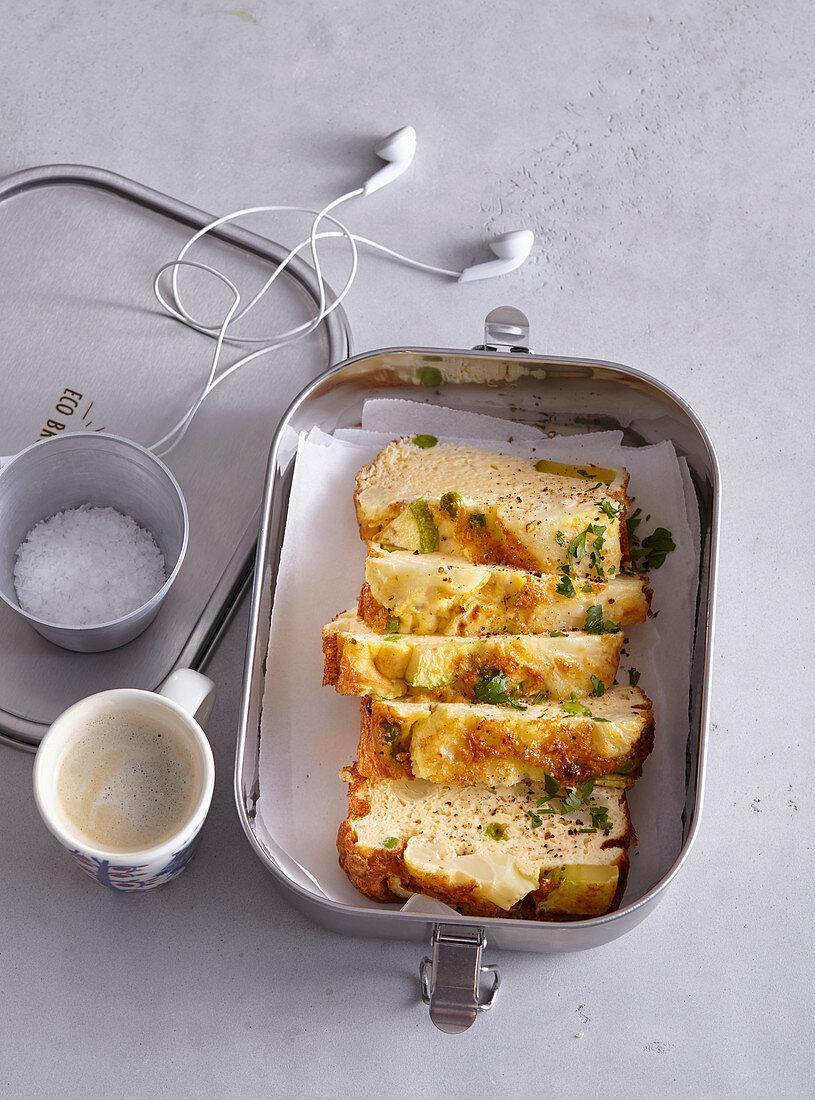 Cauliflower frittata