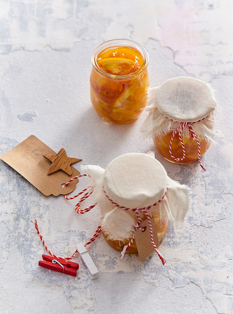 Roasted citrus tea as a Christmas present