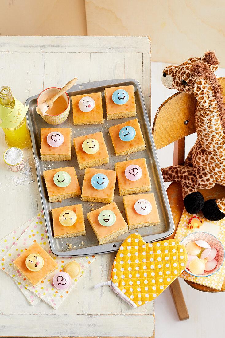 Schneller Orangenlimo-Kuchen