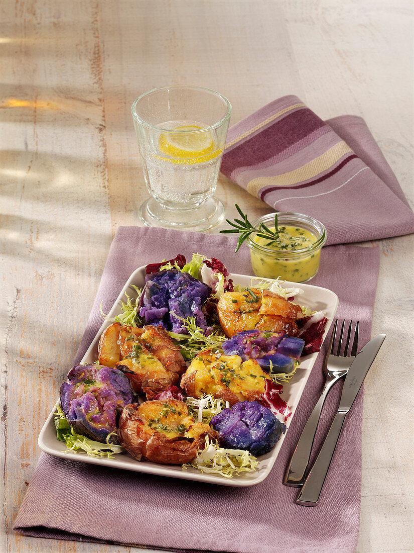 'Platte' potatoes with lemon dressing