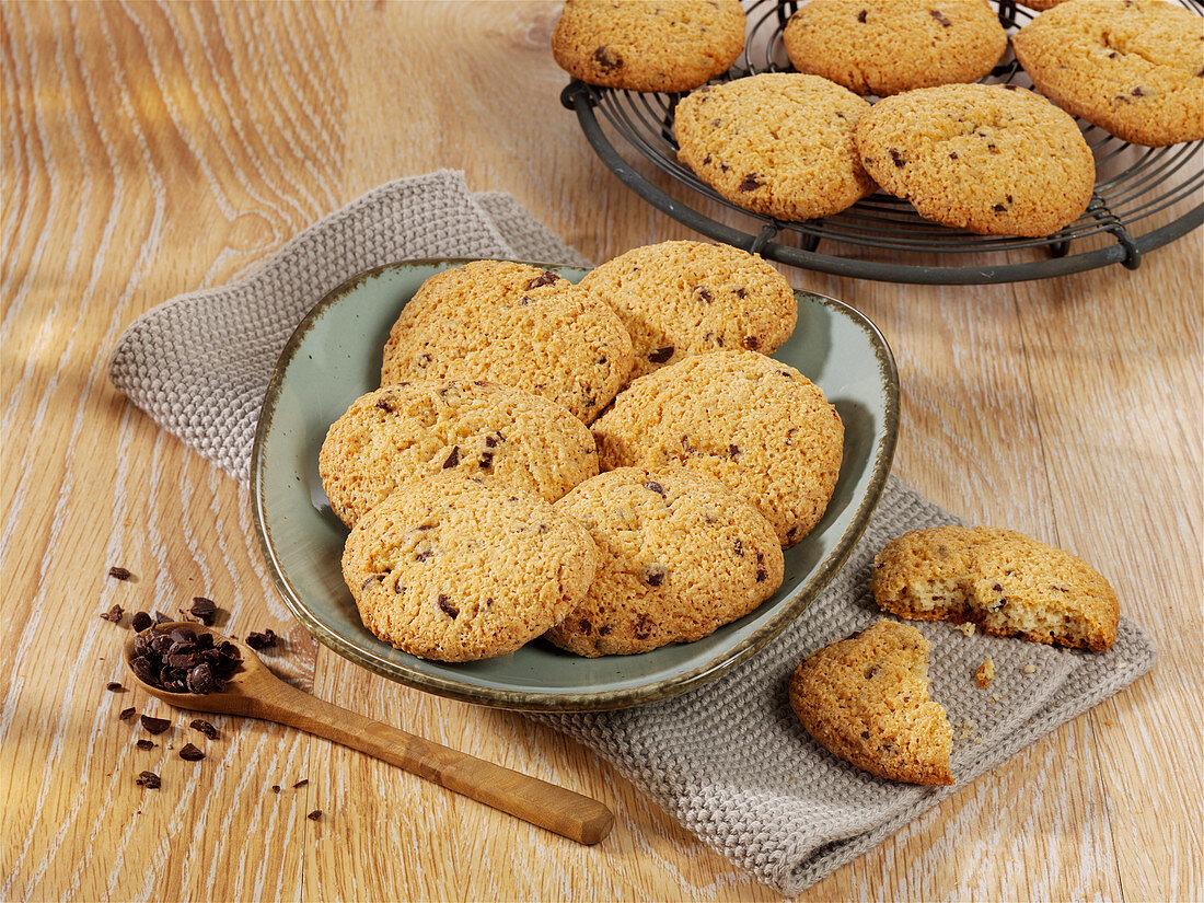 Cookies mit Schokotropfen