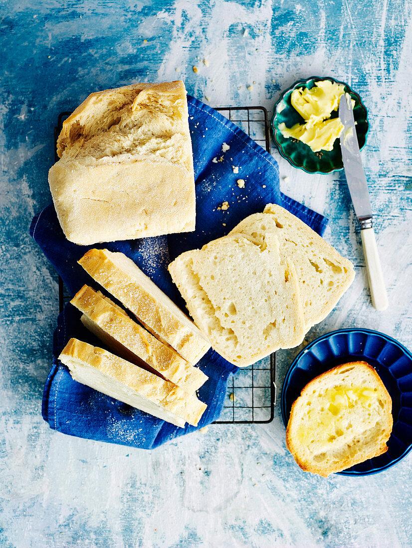 Basic gluten-free bread