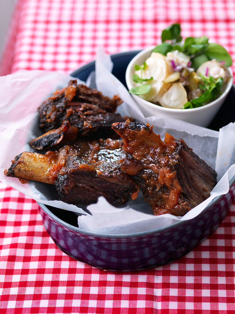 Slow cook short ribs