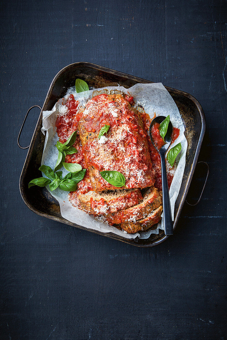 Bolognaise meat loaf