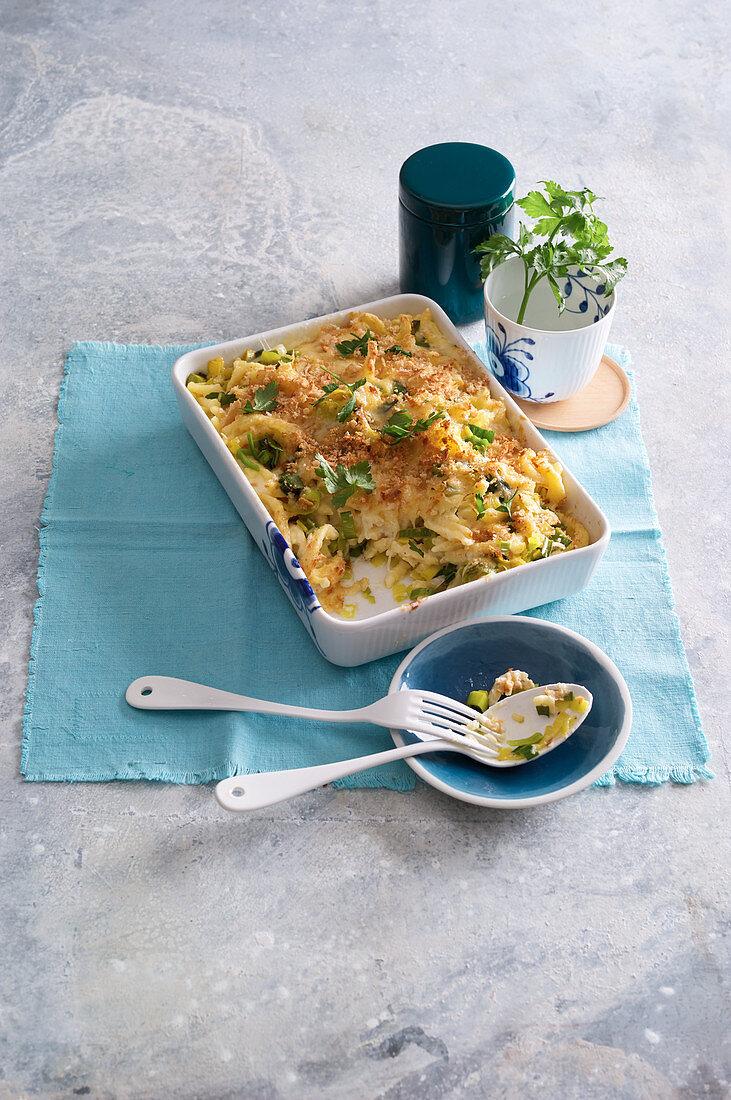 Cheese and pasta bake