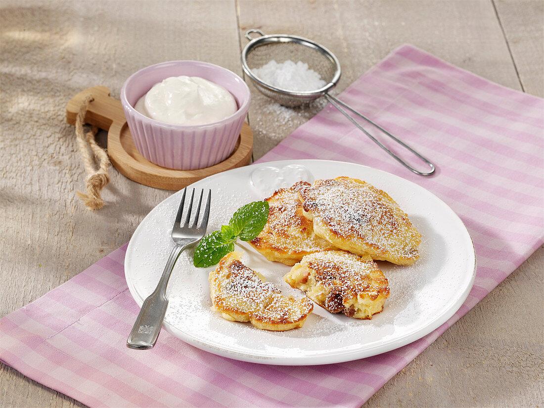 Shredded pancakes