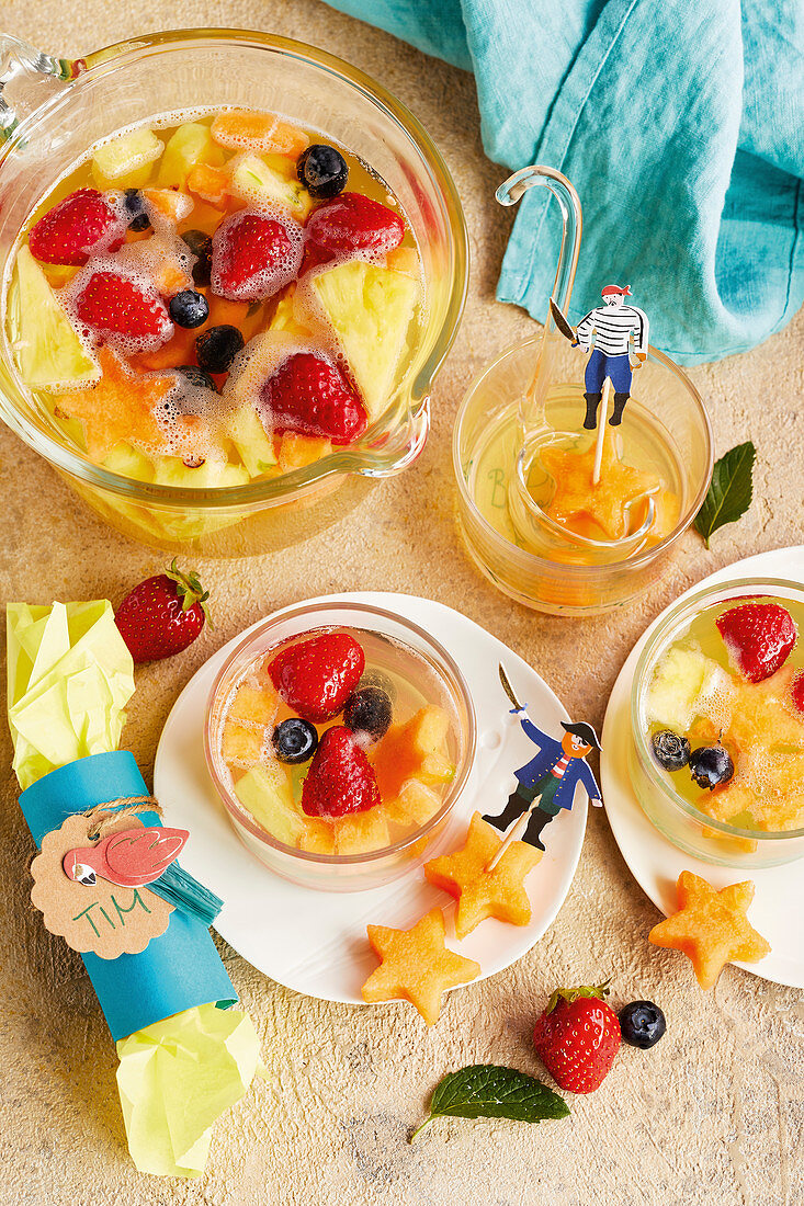 Fruity punch for children