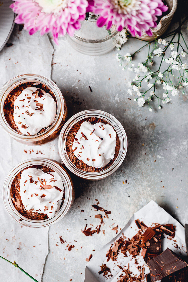 Chocolate Coocnut Mousse