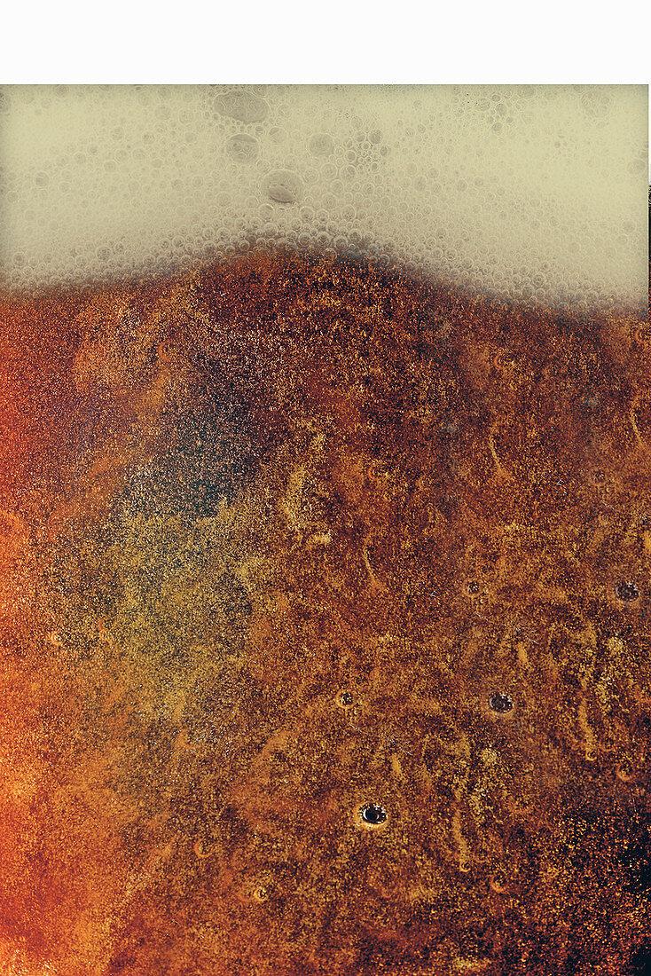 'Weizenrauchbock' beer (full frame)