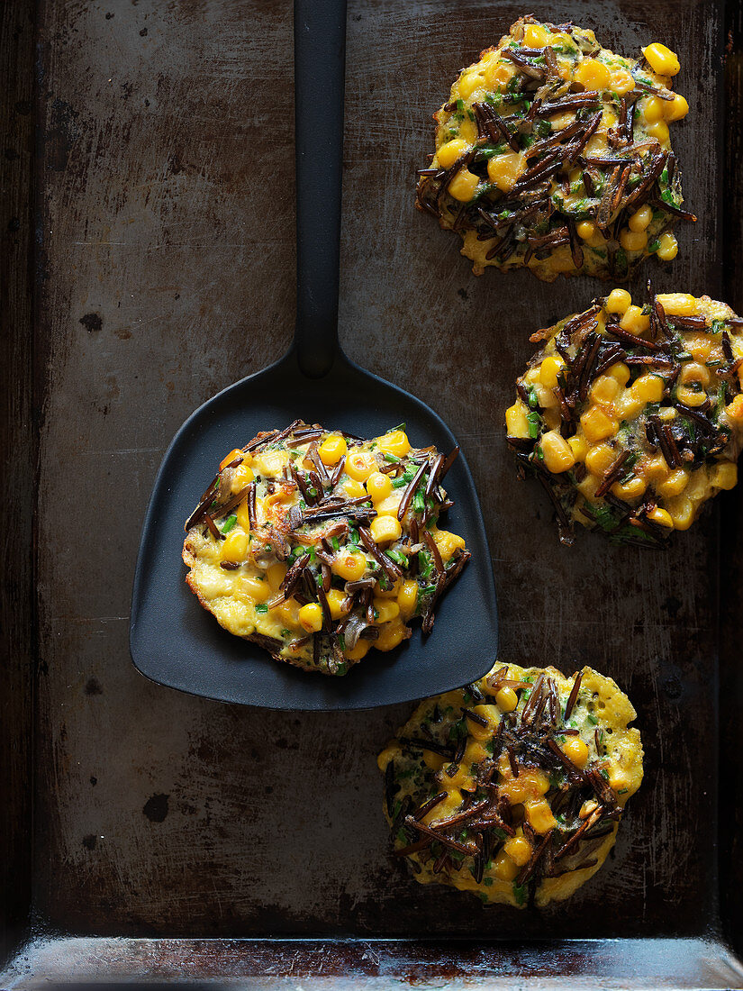 Corn patties
