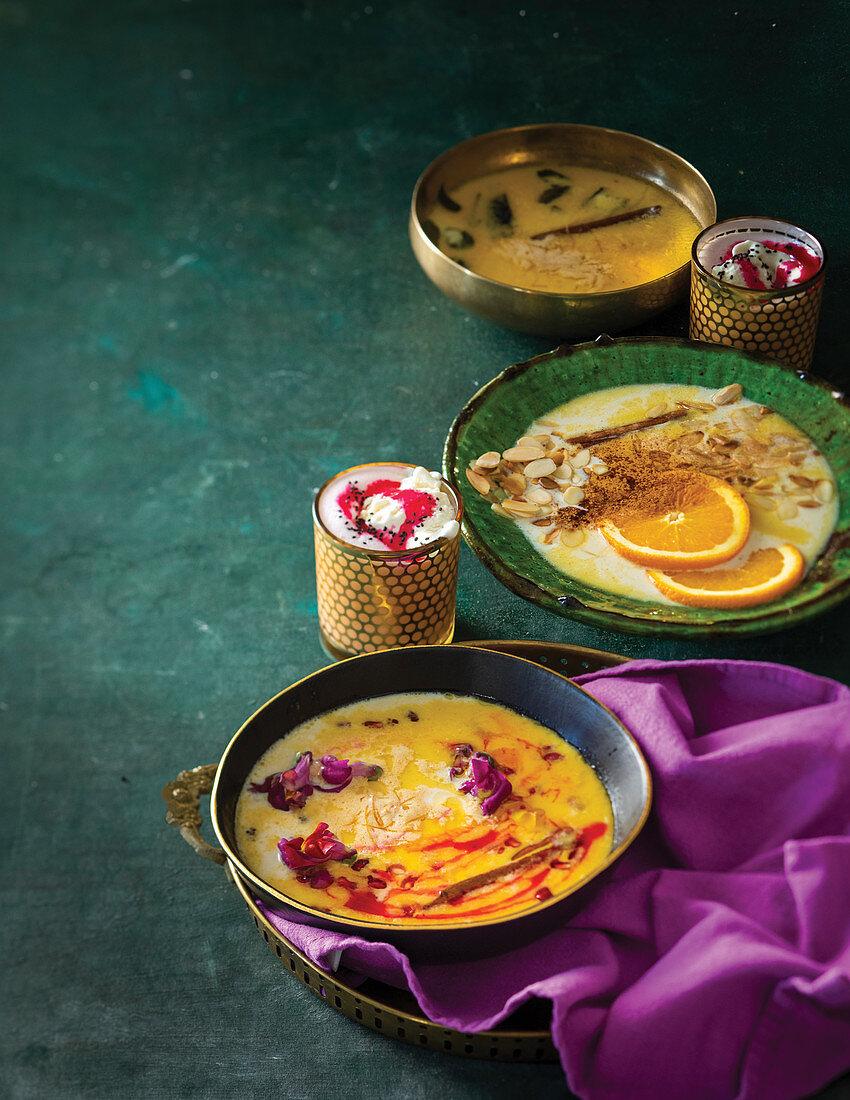 Ramadan boeber and falooda