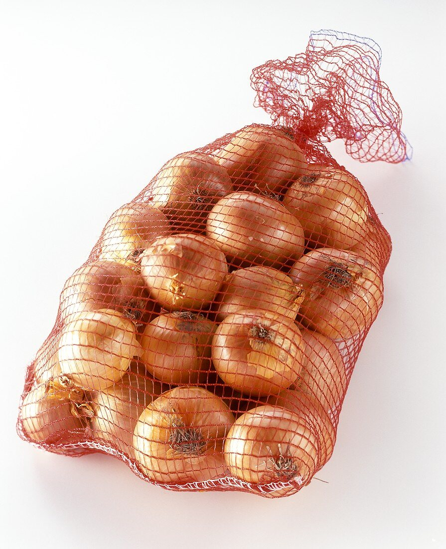 A sack of onions