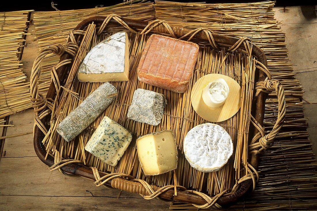 Assorted French Cheeses