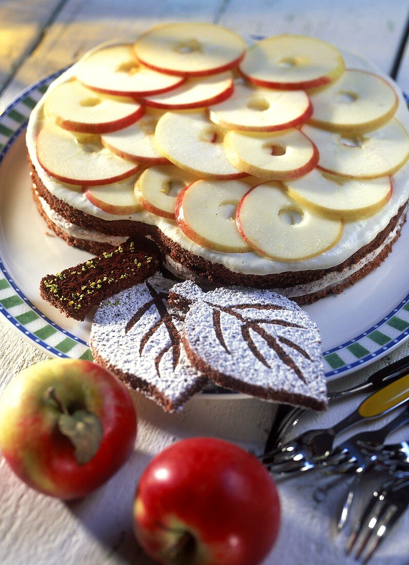 Torte Apfelernte