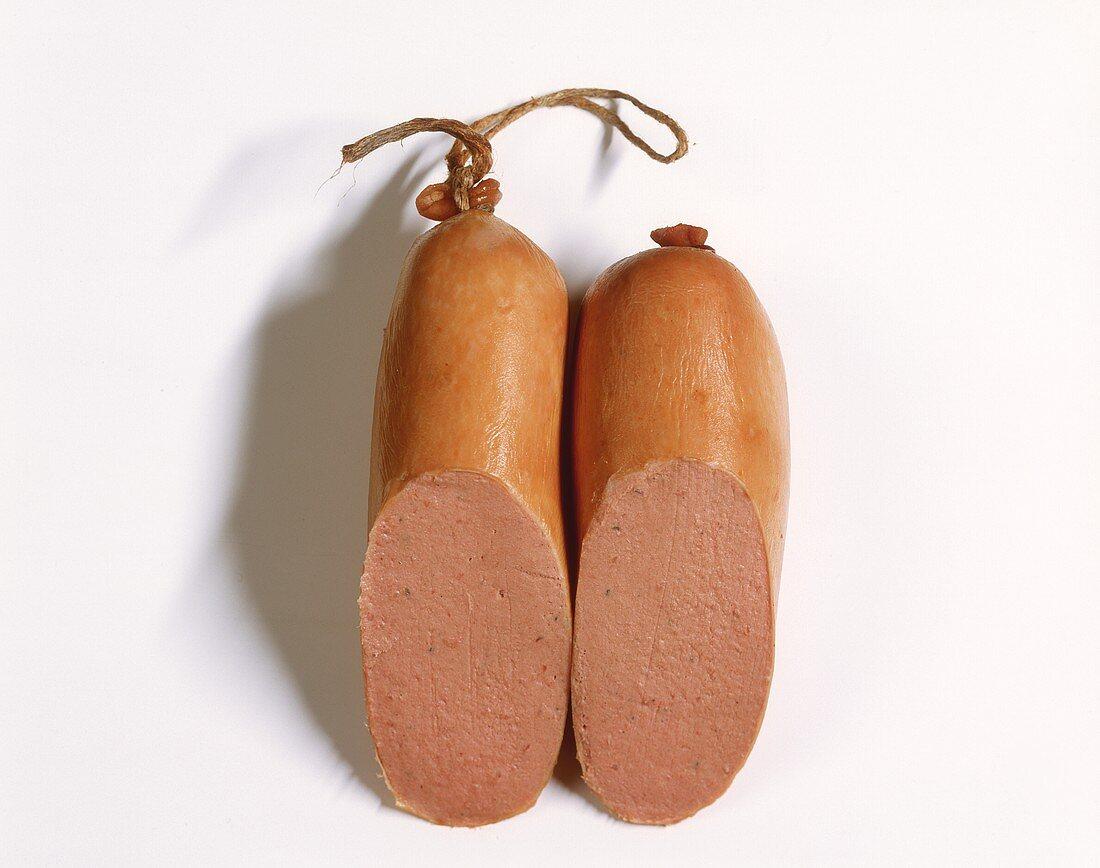 Veal liver sausage