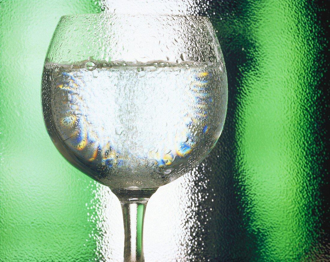 A Glass of White Wine; Condensation