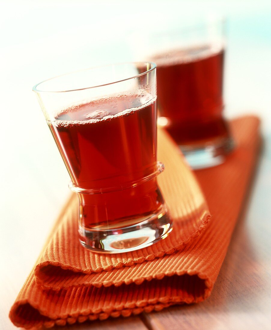 Red wine and Arak punch
