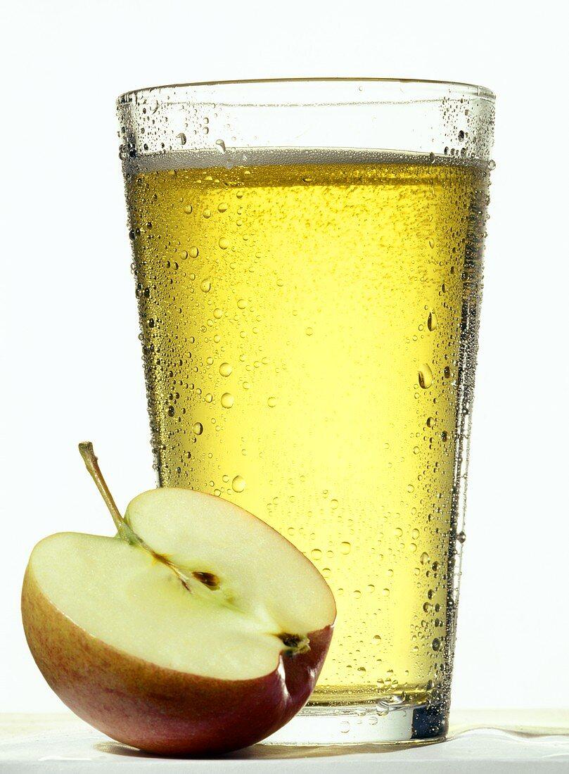 Apple Juice with Apple