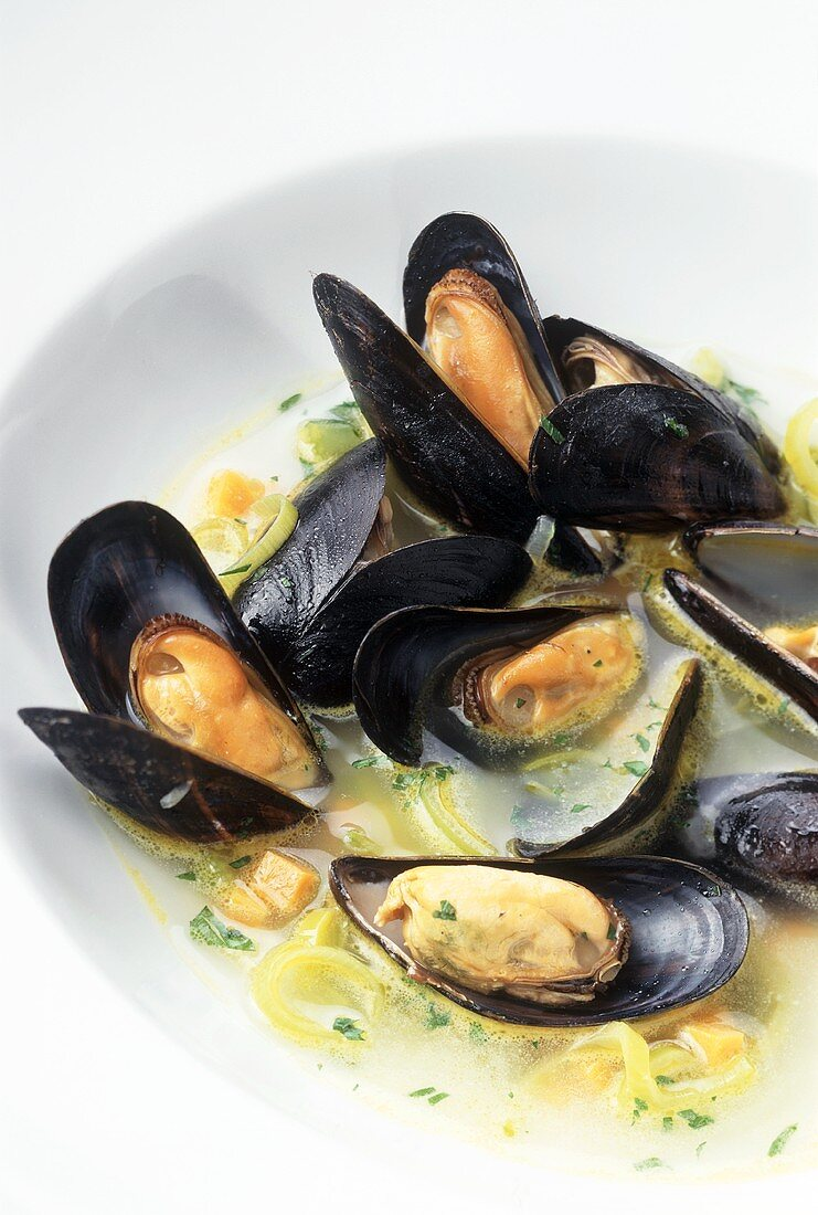 Mussels, French style