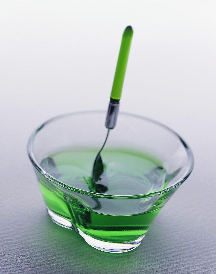 Green Jell-O