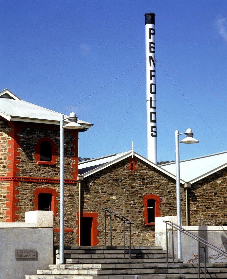 Gebäude des Penfold's Weinguts, Adelaide Hills, Südaustralien