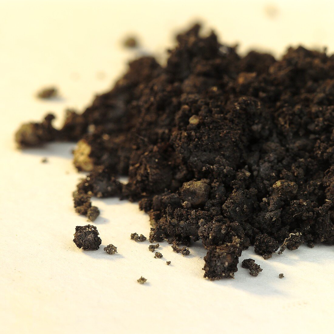 A pile of earth