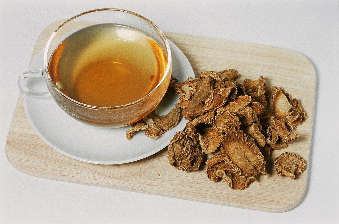 Devil's claw tea (Harpagophytum procumbens)