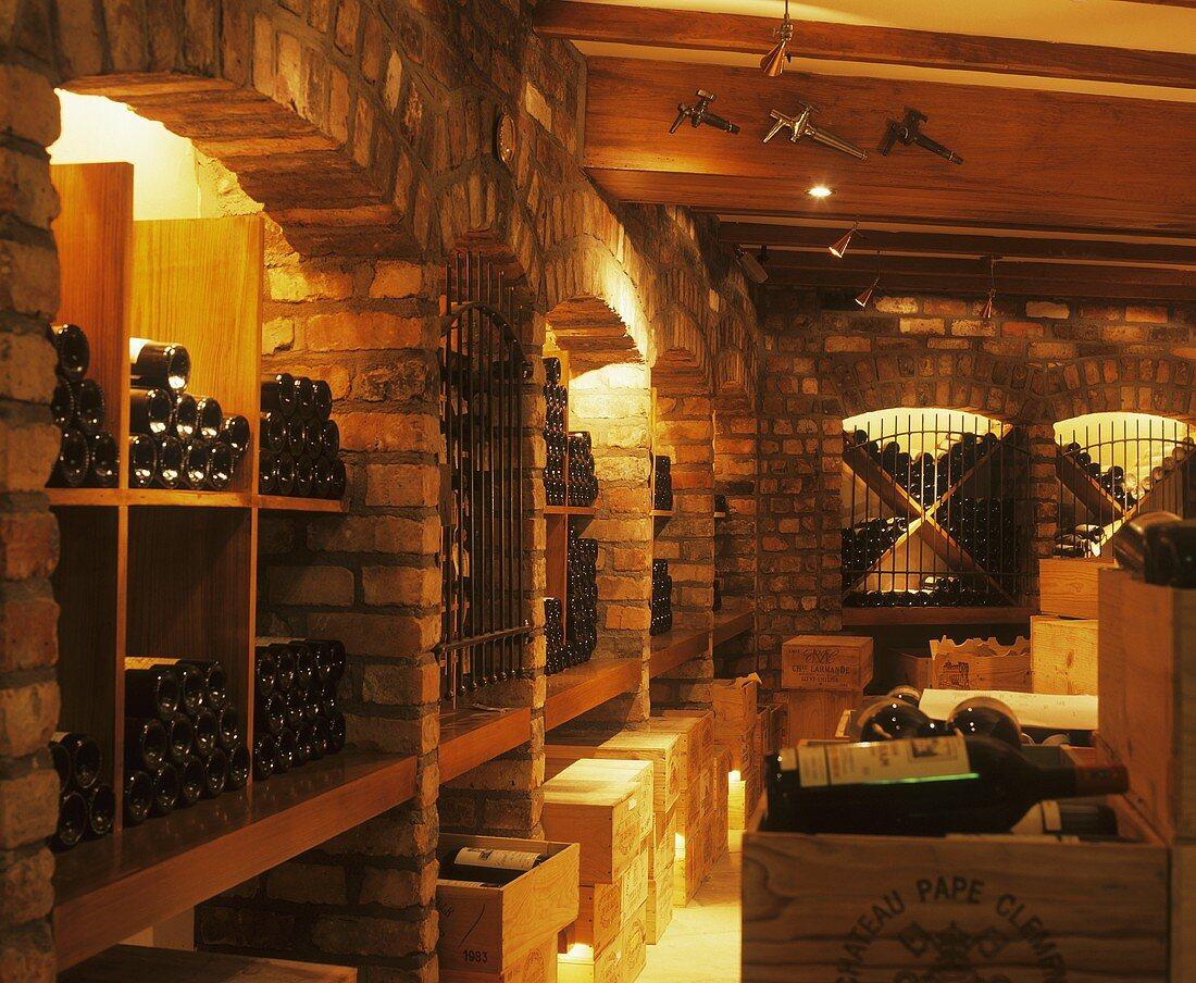 Berry Brothers' wine cellar, Dublin, Ireland
