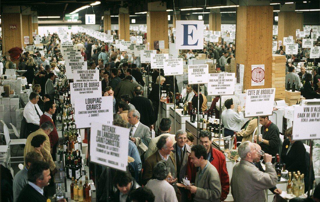 Wine Fair in Paris