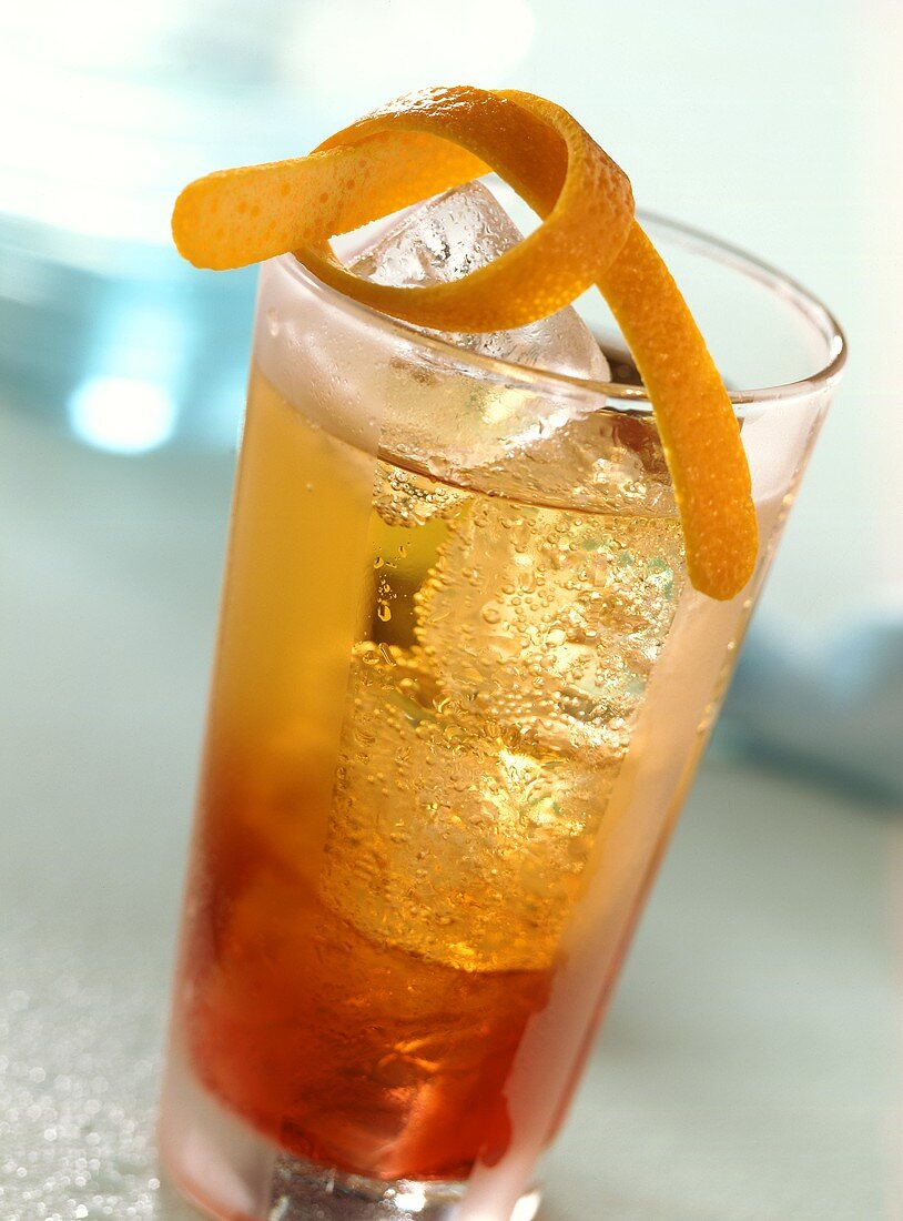 Americano (long drink with Campari and Vermouth)
