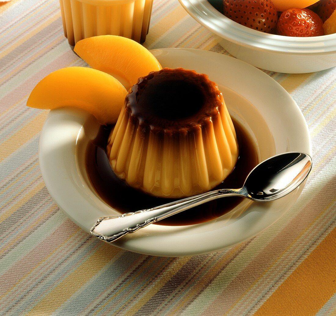 Flan caramel (caramel blancmange, Spain)