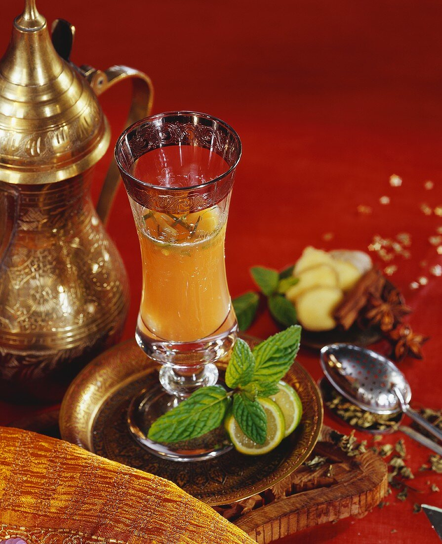 Ampani (sweet mango drink, India)